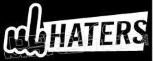 Fuck Haters JDM Decal Sticker