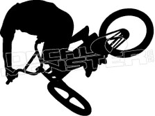 BMX Air Silhouette  Decal Sticker