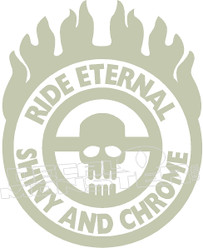 Mad Max Ride Eternal Quote Decal Sticker