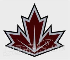 Team Canada Leaf Decal Sticker