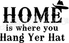 Home is Quote Decal Sticker