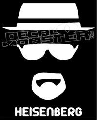 Heisenberg Guy Stuff Decal Sticker