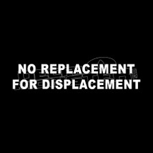 No Replacement for Displacement Funny Decal Sticker