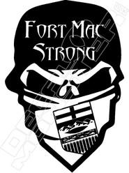 Fort Mac Strong Bandit Decal Sticker