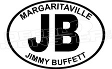 JB Margaritaville Jimmy Buffett Decal Sticker