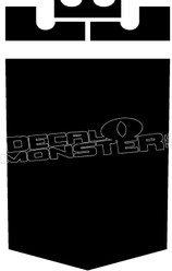 Crooks and Castles Pocket Decal Sticker