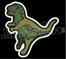 Coach Dinosaur Bag Decal Sticker