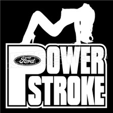 Ford Powerstroke Decal Sticker