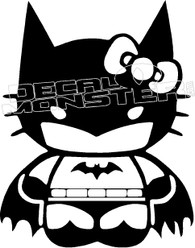 Bat Kitty Decal Sticker