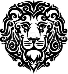 Lion Silhouette 2 Decal Sticker