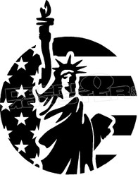 America Liberty Decal Sticker