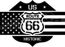Route 66 8 Decal Sticker