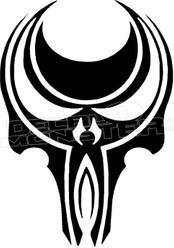Horde Skull 11 Decal Sticker