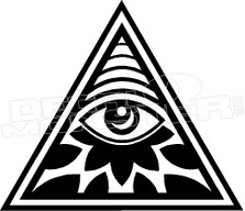 Illuminati Decal Sticker
