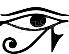 Eye of Horus  Decal Sticker