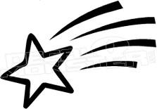 Shooting Star Decal Sticker
