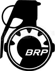 BRP Grenade Sled Decal Sticker