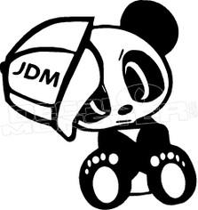 JDM Panda 1 Decal Sticker