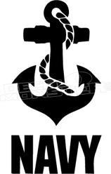 US Navy 1 Decal Sticker