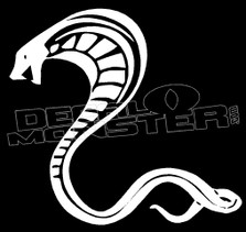 Cobra Snake Silhouette 9 Decal Sticker