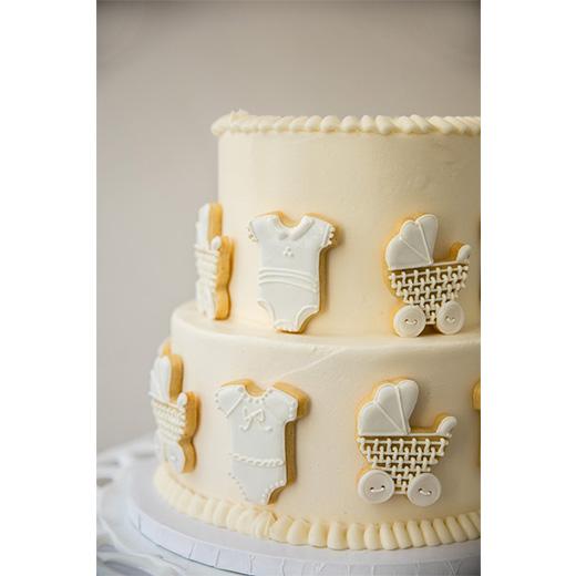 Baby Item Cookie Cake