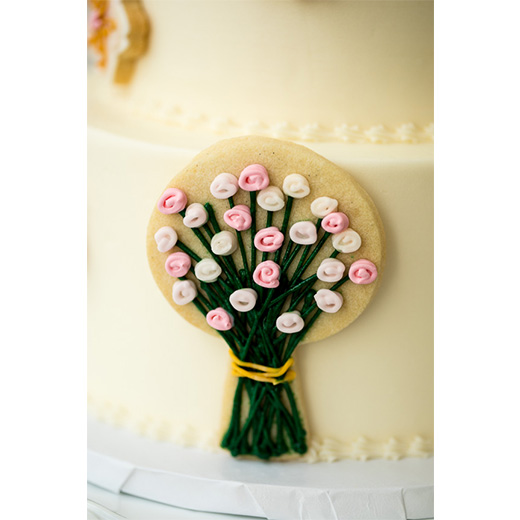 Bouquet Cookie Cake