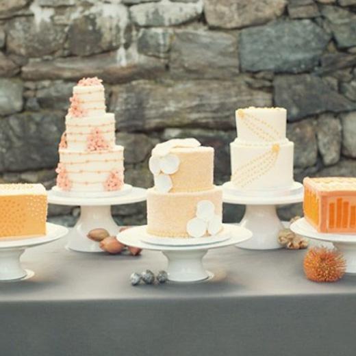 Peachy Keen Cake Bar