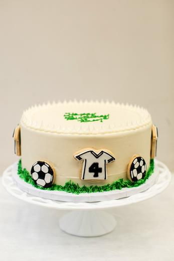 Soccer Cookie Cake