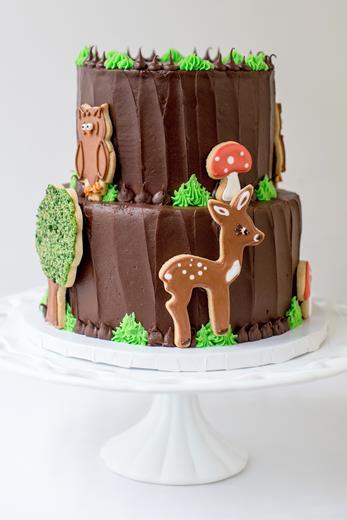 Woodland Cookie Cake