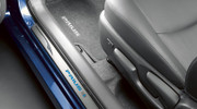 LED Illuminated Door Sill Protectors for 2010-2014 Toyota Prius