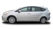 Body Side Moldings for 2012-2014 Toyota Prius v
