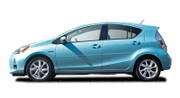 Body Side Moldings for 2012-2014 Toyota Prius c