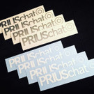 PriusChat Vinyl Window Decal/Sticker