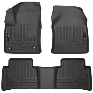 2016 Prius Husky Liners in Black