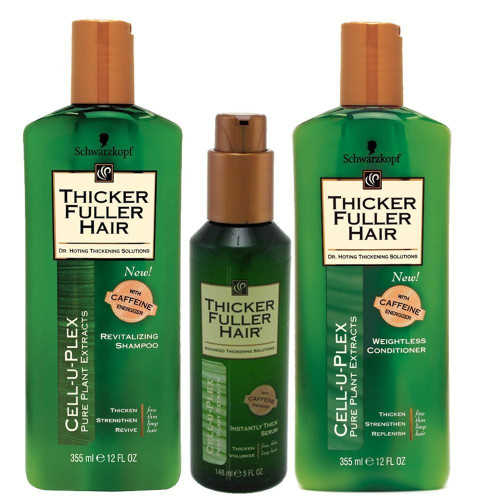 Thicker fuller Hair