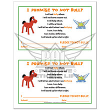 Pokey PAL Anti-Bullying Pledge