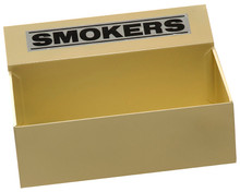 Smokers floor tray