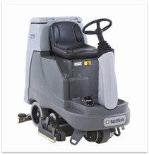 Nilfisk BR855 Ride On scrubber dryer