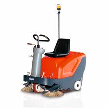 Hako Sweepmaster B800R Battery Ride On Behind Sweeper