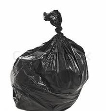 Bin Liner 82lt LDPE Black all purpose