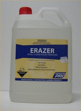 Erazer is for removal of polish build up and difficult to remove burnished finishes.
