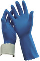 Flocklined Gloves Blue