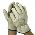 Gold Leather Glove