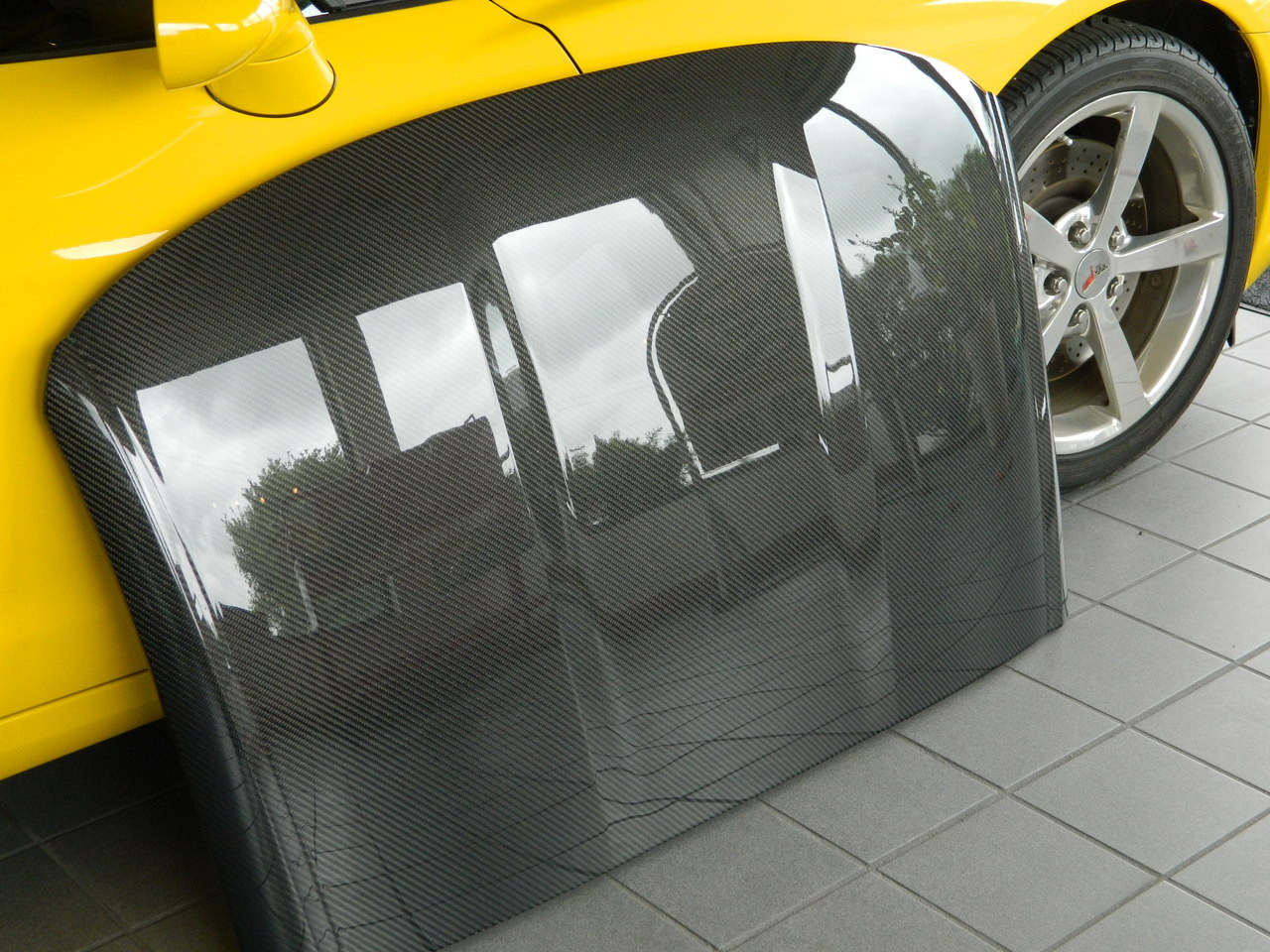 C7 Corvette Carbon Fiber Roof Panel