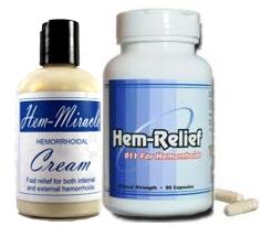 Hem Miracle Cream and Hem Relief