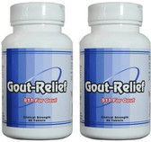 Gout-Relief natural gout treatment 180 tablets.