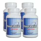 Gout-Relief natural gout treatment 360 tablets.