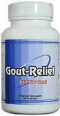 Gout-Relief provides both pain relief and long-term uric acid control for gout prevention.