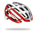 Z1 White and Red Helmet with 31 vents