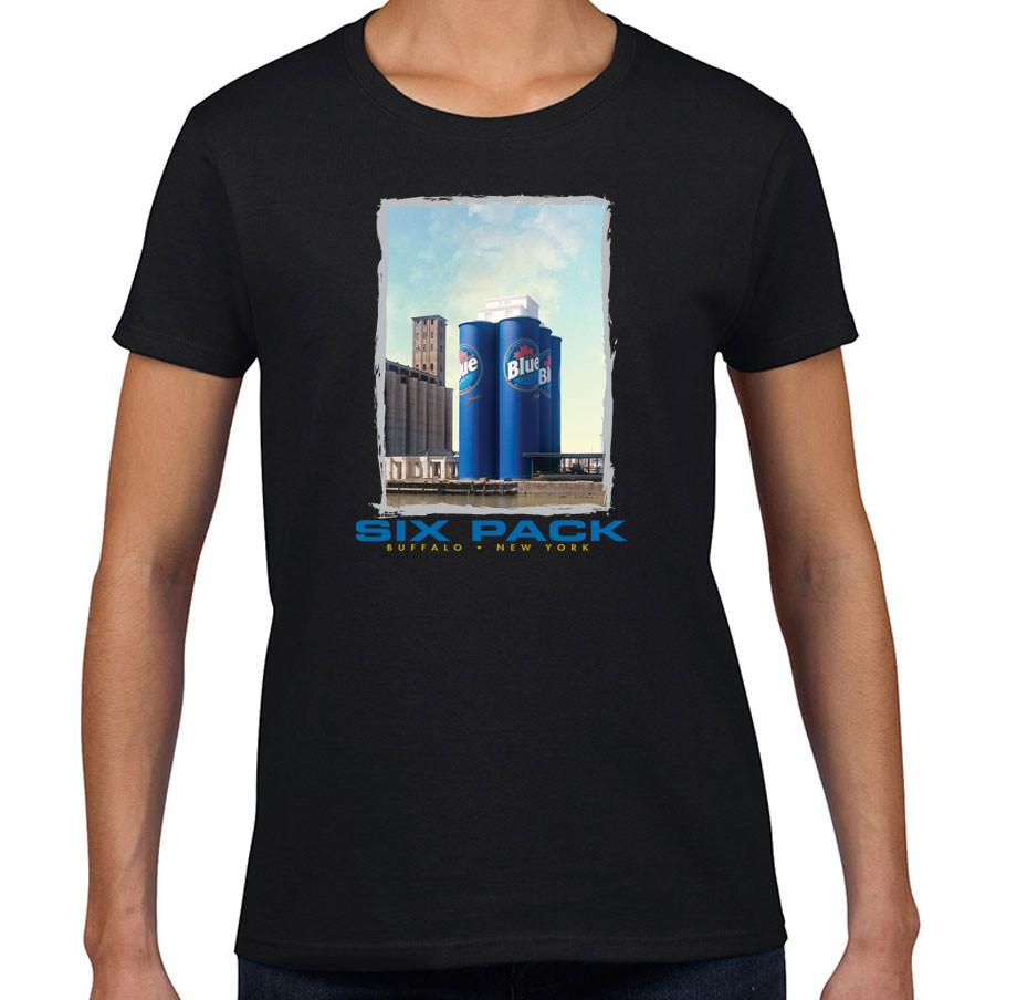 Six pack t shirts buffalo treasures for Custom t shirts buffalo ny